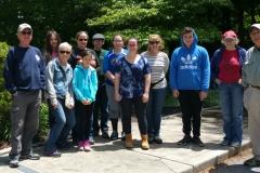 Nature walk group