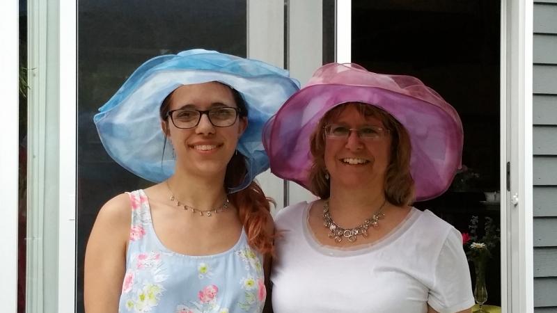 Laurie and Kelsie