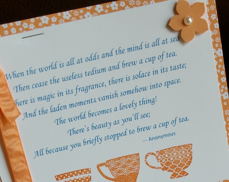 tea party poem