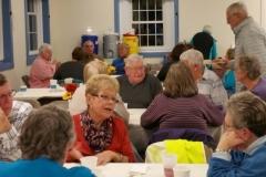 community dinner crowd