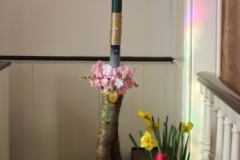 Paschal Candle made by youth group
